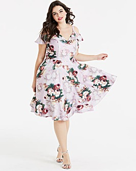 Chi Chi London Floral Dress