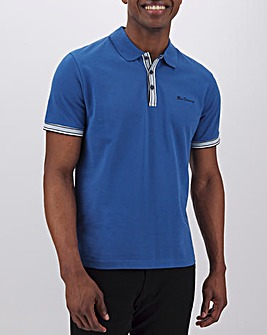 Ben Sherman Mod Stripe Detail Polo Long