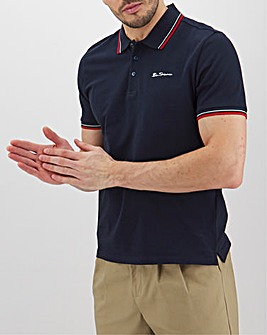 Ben Sherman Classic Pique Polo Long