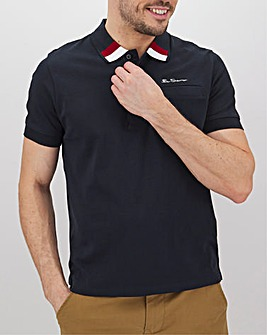 Ben Sherman Clean Trimmed Polo Long
