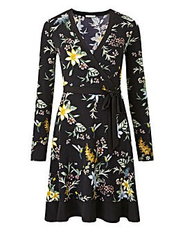 Oasis Curve Jasmine Wrap Dress