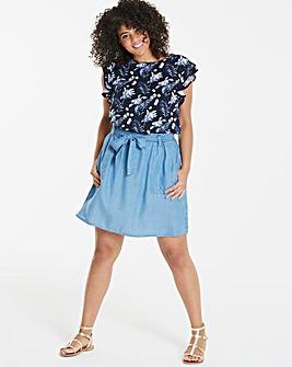 Oasis Paperbag Skirt