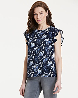 Oasis Paradise Palm Shell Top