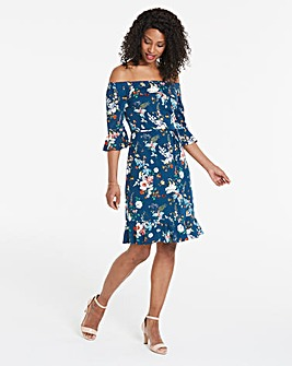 Oasis Fitzwilliam Dupont Bardot Dress