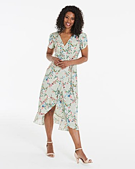 Oasis Fitzwilliam Newby Midi Tea Dress