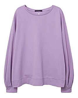 Violeta by Mango Jersey Sweatshirt