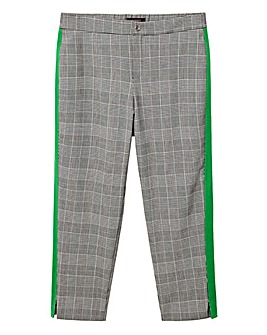 Violeta by Mango Check Trouser