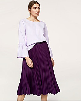 Violeta by Mango Pleated Skirt