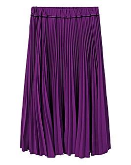 Violeta by Mango Pleated Skirt