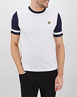 Lyle & Scott Contrast Sleeve T-Shirt