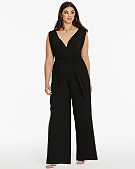 Ax Paris Curve Pleated Jumpsuit