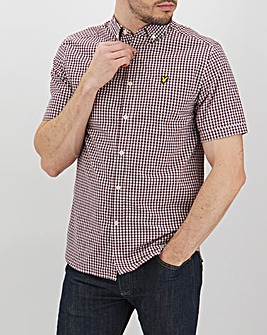 Lyle & Scott Gingham Overshirt