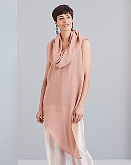 Concept Bardot Linen Top