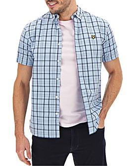 Lyle & Scott Short Sleeve Check Shirt