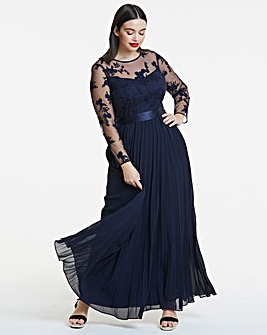Coast Odetta Embroidered Maxi Dress