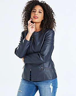 Oasis Faux Leather Jacket