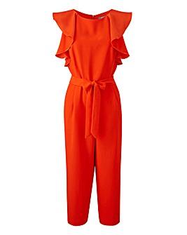 Oasis Ruffle Sleeve Jumpsuit