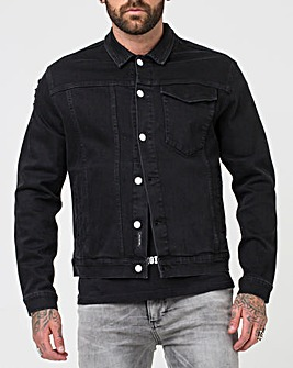 Religion Underground Denim Jacket Long