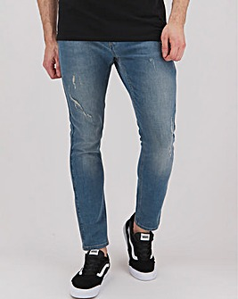 Religion Hero Stretch Skinny Fit Jean