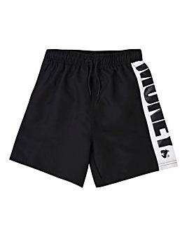 Money Black Swim Short