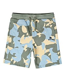 Money Blue Camo Track Short