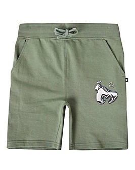 Money Green Sweat Short