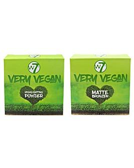 W7 Very Vegan Highlighter Duo