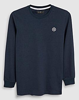 Henri Lloyd Boys Navy L/S T-Shirt
