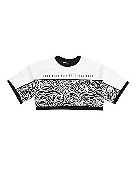 Elle Girls Zebra Box T-Shirt