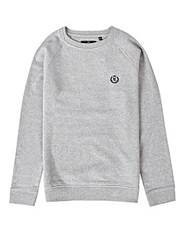 Henri Lloyd Boys Grey Barford Crew Sweat