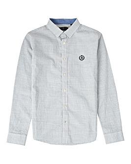 Henri Lloyd Boys Blue Check L/S Shirt
