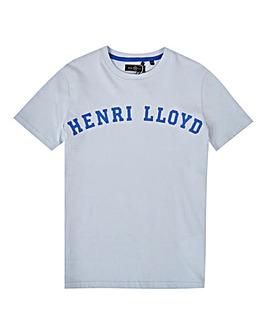 Henri Lloyd Boys Blue Logo T-Shirt