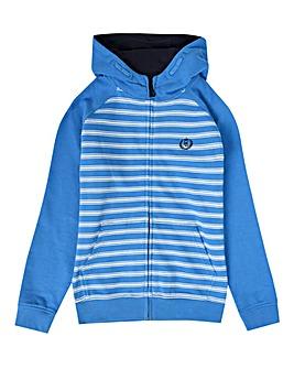 Henri Lloyd Boys Blue Stripe Hoodie