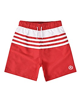 Henri Lloyd Red Stripe Swim Shorts