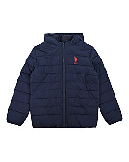 U.S. Polo Assn Navy Puffa Jacket
