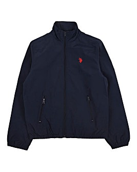 U.S. Polo Assn Navy Funnel Neck Jacket