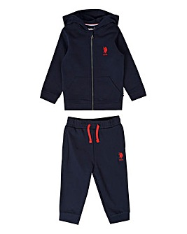 U.S. Polo Assn Navy Jog Set