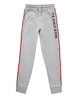 U.S. Polo Assn Grey Tape Jogger
