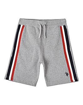 U.S. Polo Assn Grey Tape Sweat Short