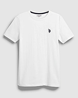 U.S. Polo Assn White Core Tee
