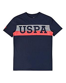 U.S. Polo Assn Navy Varsity Tee