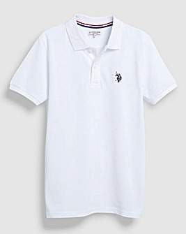 U.S. Polo Assn White Polo