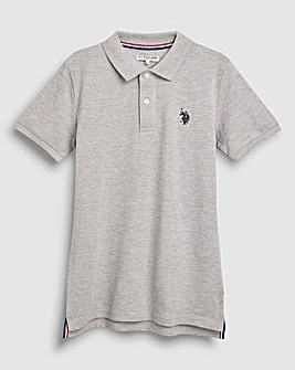 U.S. Polo Assn. Grey Core Polo