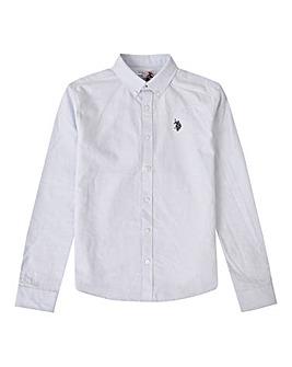 U.S. Polo Assn Blue Oxford Shirt