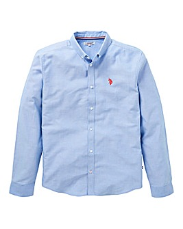 U.S. Polo Assn Blue Oxford Shirt