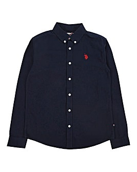 U.S. Polo Assn Navy Oxford Shirt