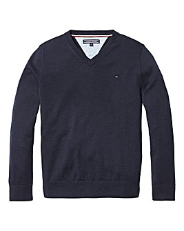 Tommy Hilfiger Boys V Neck Jumper