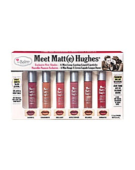 theBalm Lipstick Set Meet Matte Hughes