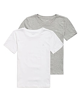 Calvin Klein Boys Pack of Two T-Shirts