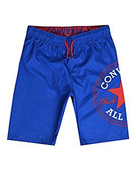 Converse Blue Swim Shorts